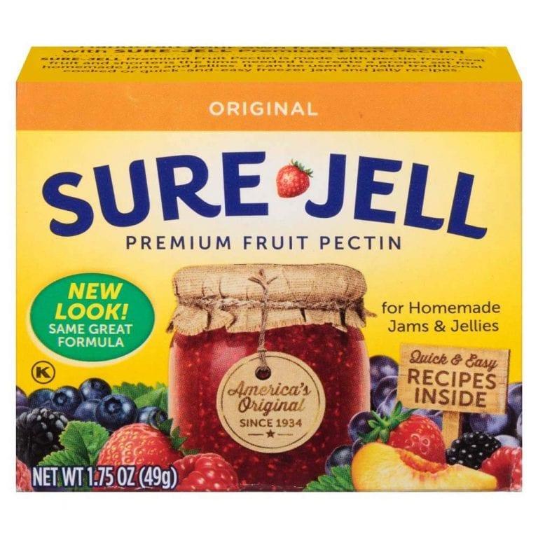 fruit pectin - weed test