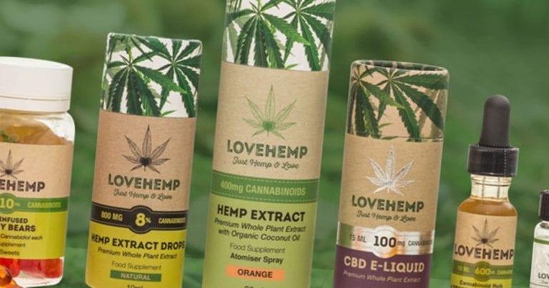 love hemp CBD oil UK