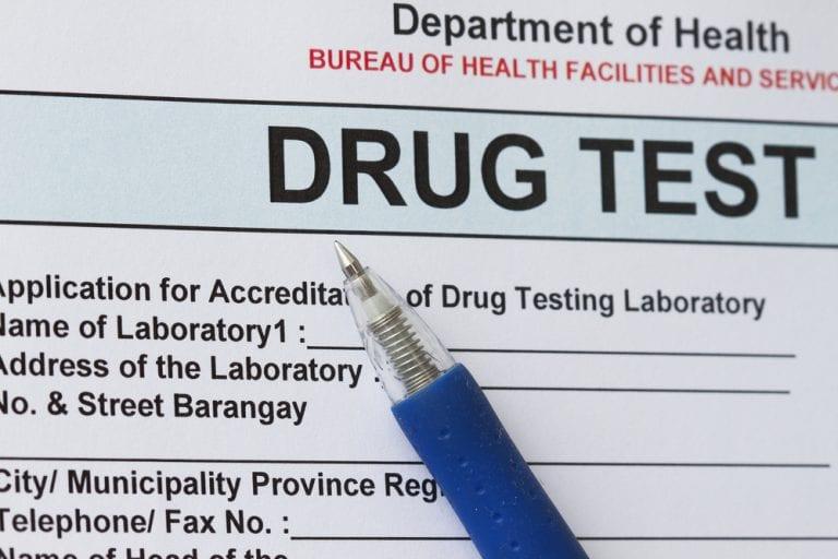 marijuana drug test at work