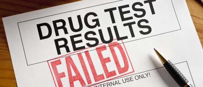failing weed drug test